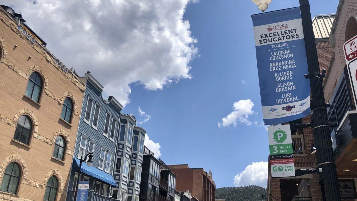 New Main Street Banners Thank Teachers