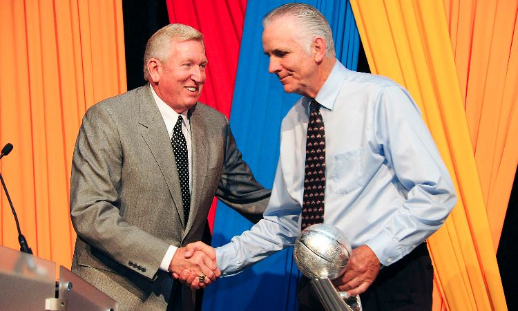 Bill Hosket and Jerry Lucas