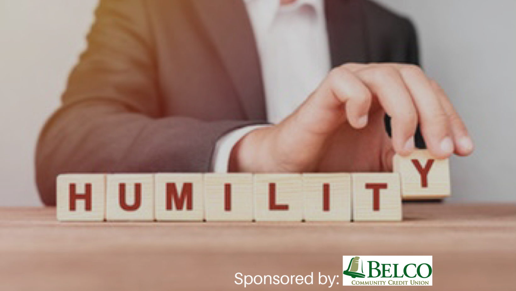 Leading With Humility