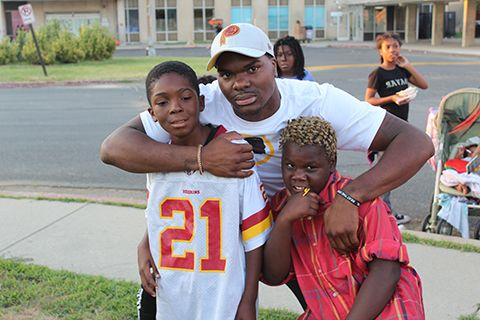 Redskins Rookie Brings His Story of Resilience to Playtime