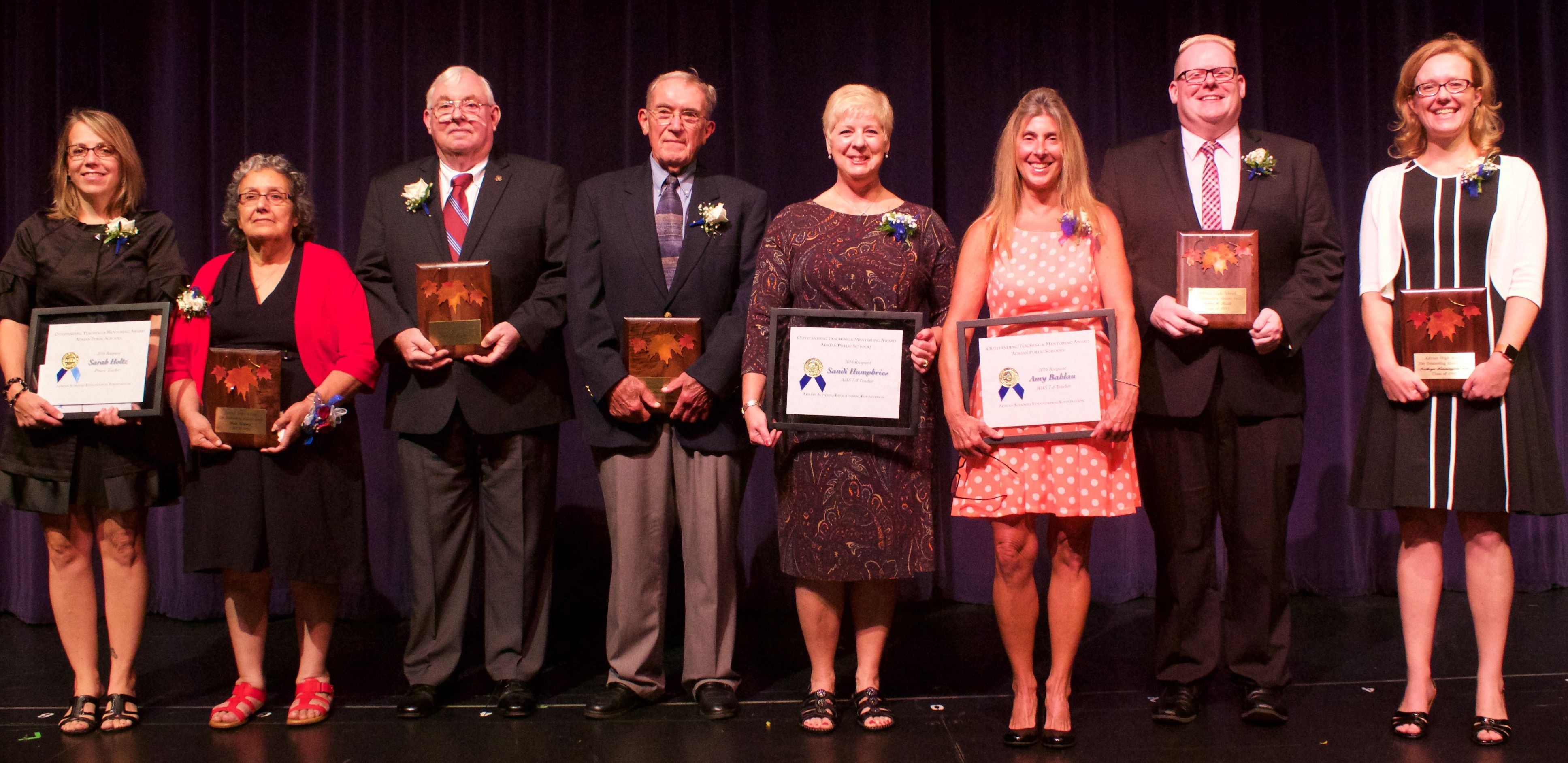 2016 Outstanding Alumni Honored