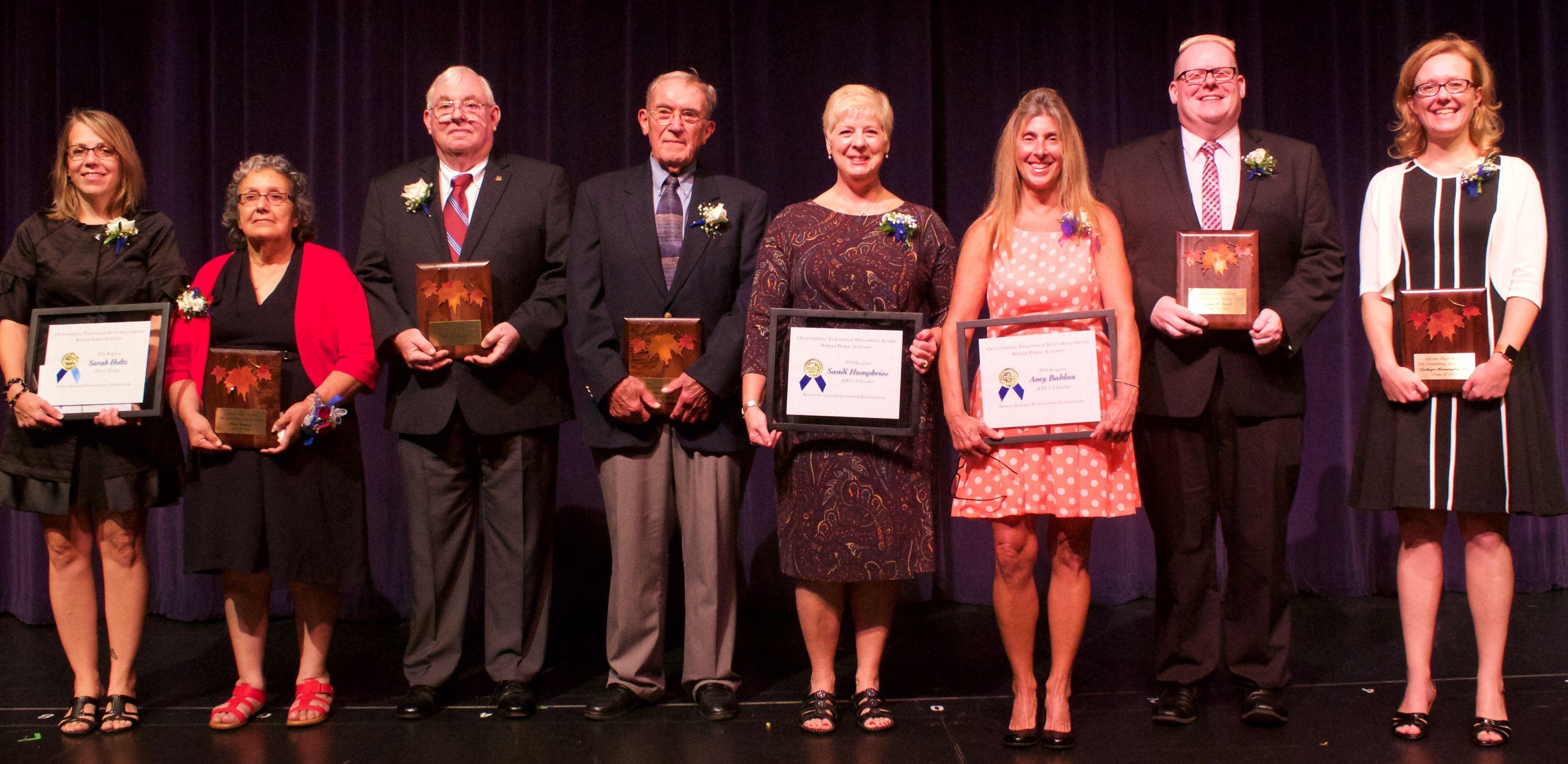 2016 Outstanding Alumni Honored
