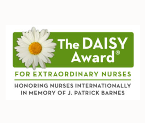 Want to Thank Your Nurse For Extraordinary Care?  Click on This Image to Nominate a Nurse for The DAISY Award!