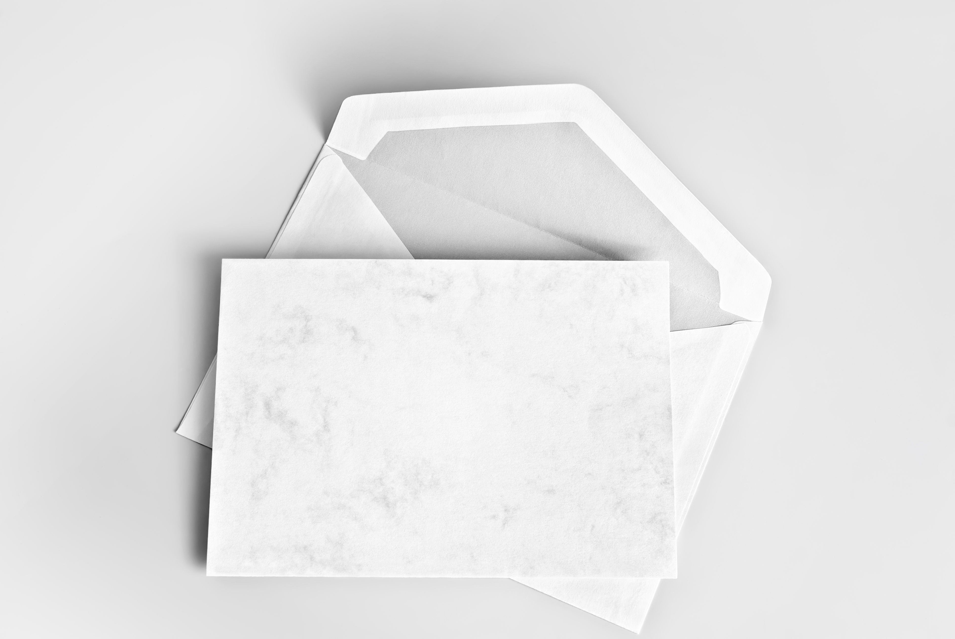 Reply cards produced in Owings Mills, Maryland.