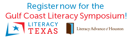 Register Now for the Gulf Coast Literacy Symposium