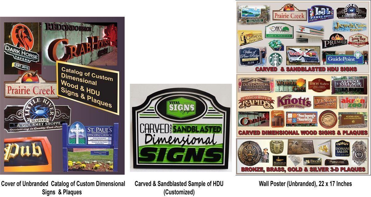 Wood & HDU Sign Catalog