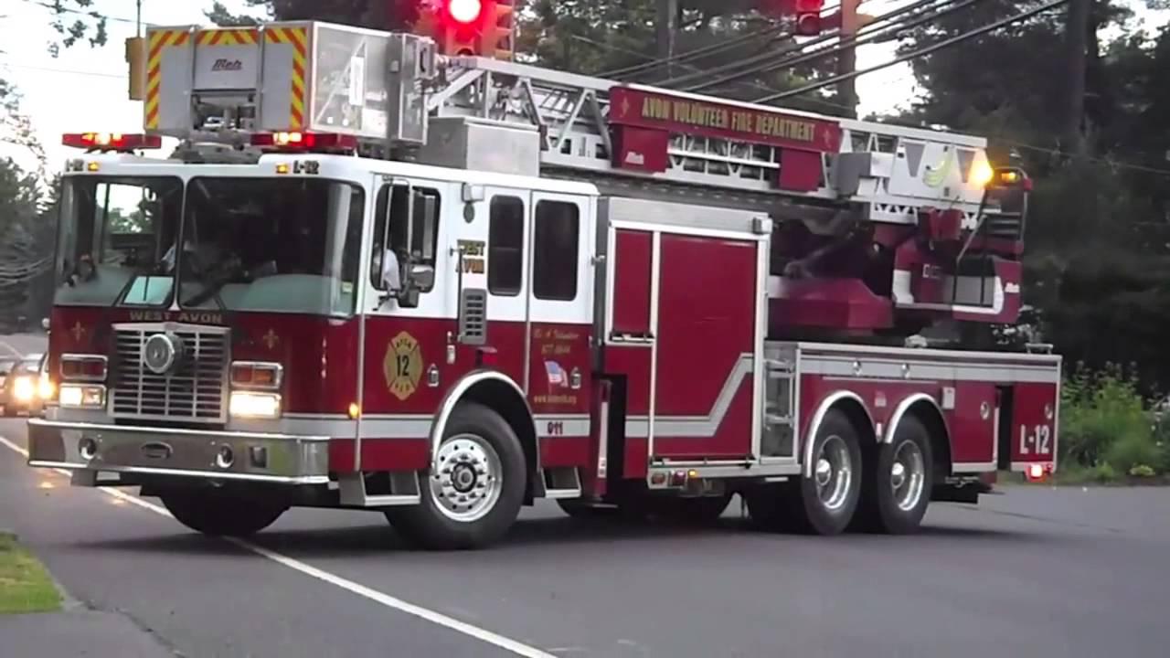 Avon Fire Dept. Parade