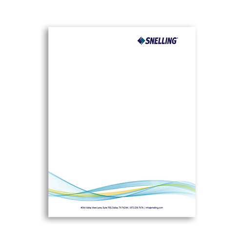 Snelling Letterhead (Includes Shipping)
