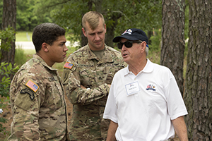 Corp Leader Visit Summer 2018 PG