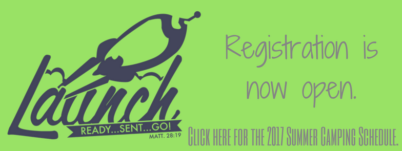 2017 Registration is Open