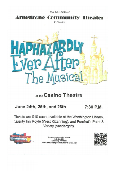 Armstrong Community Theatre: Haphazardly Ever After