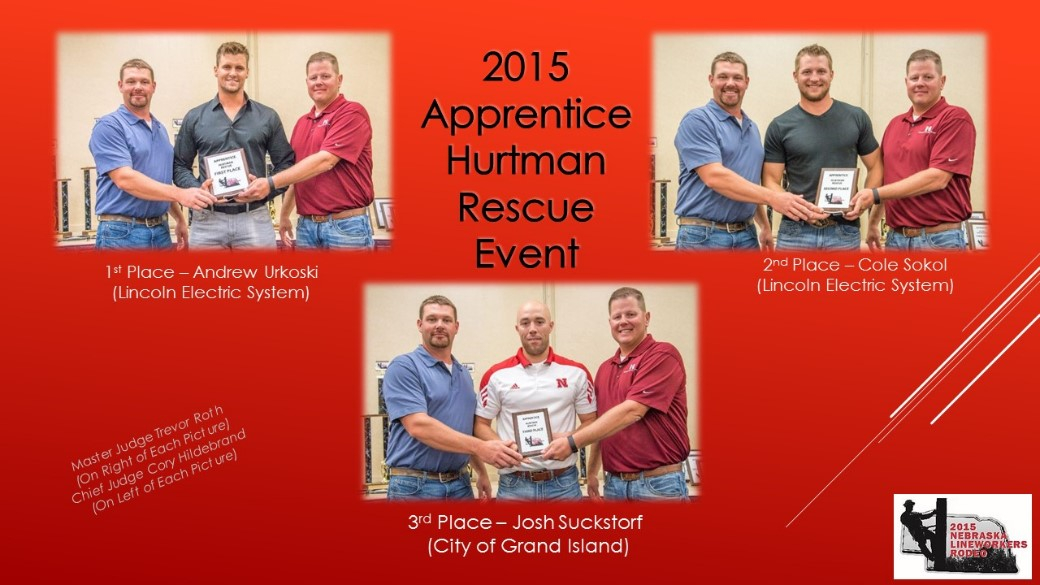 2015 Apprentice Hurtman Rescue
