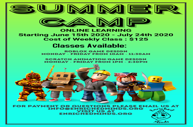 ENRICHED MINDS SUMMER CAMP!