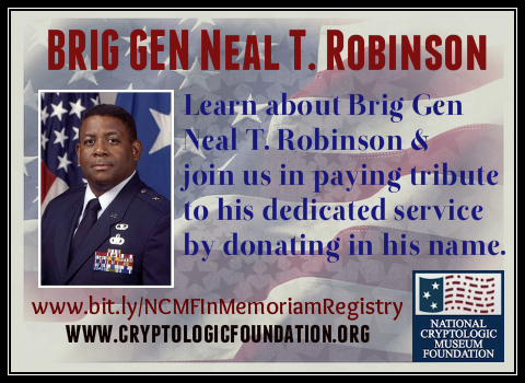 Donate in Neal Robinson's name today.