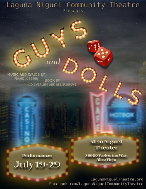 Guys & Dolls - July 19 - 29