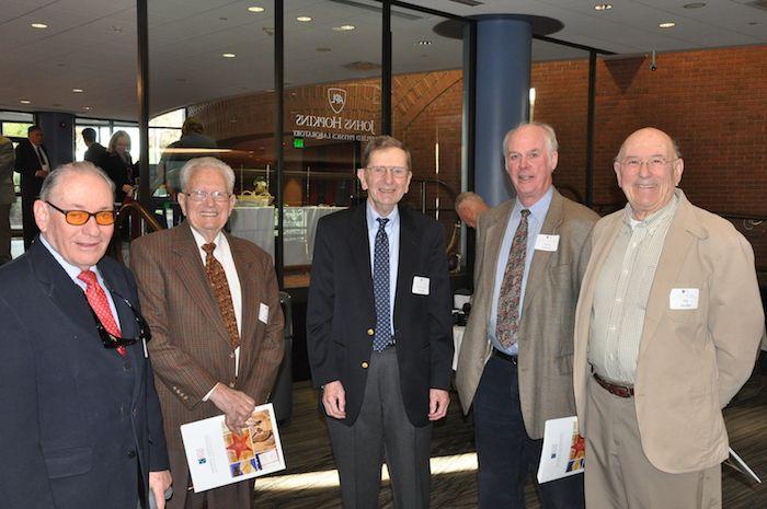 Bob Rich, Bob Dukes, Bill Kvetkas, Peter Oleson, & Ed Jacobs