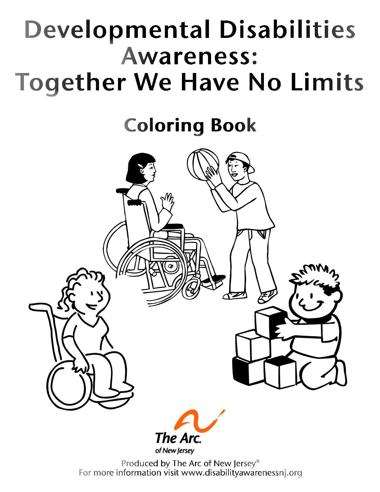 DD Awareness Coloring Book