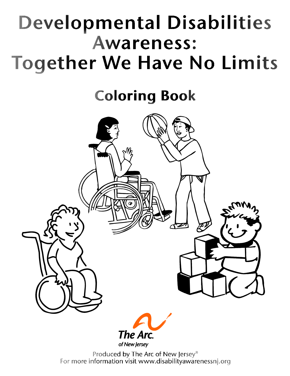 DD Awareness Coloring Book