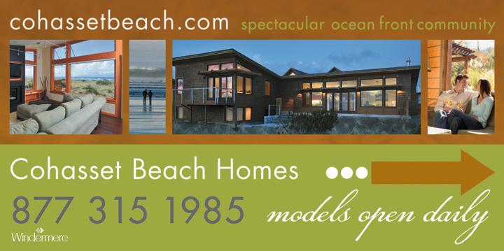Cohasset Beach Site Sign