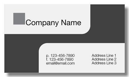 Model #025: Kwik Kopy Design and Print Centre Halifax Business Cards