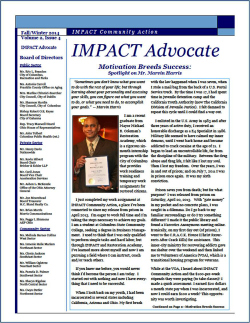 IMPACT Advocate~Fall/Winter 2014