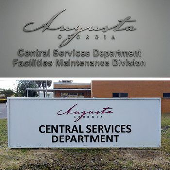 Augusta Central Services Interior and Exterior