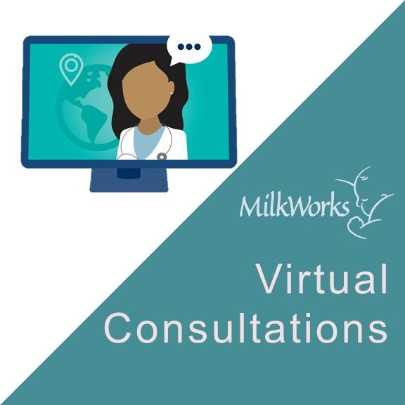 In-person or telehealth appointments with a Lactation Consultant