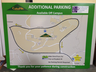 Crafton Hills College Campus Map.College And School Parking Lot Signs Orange County