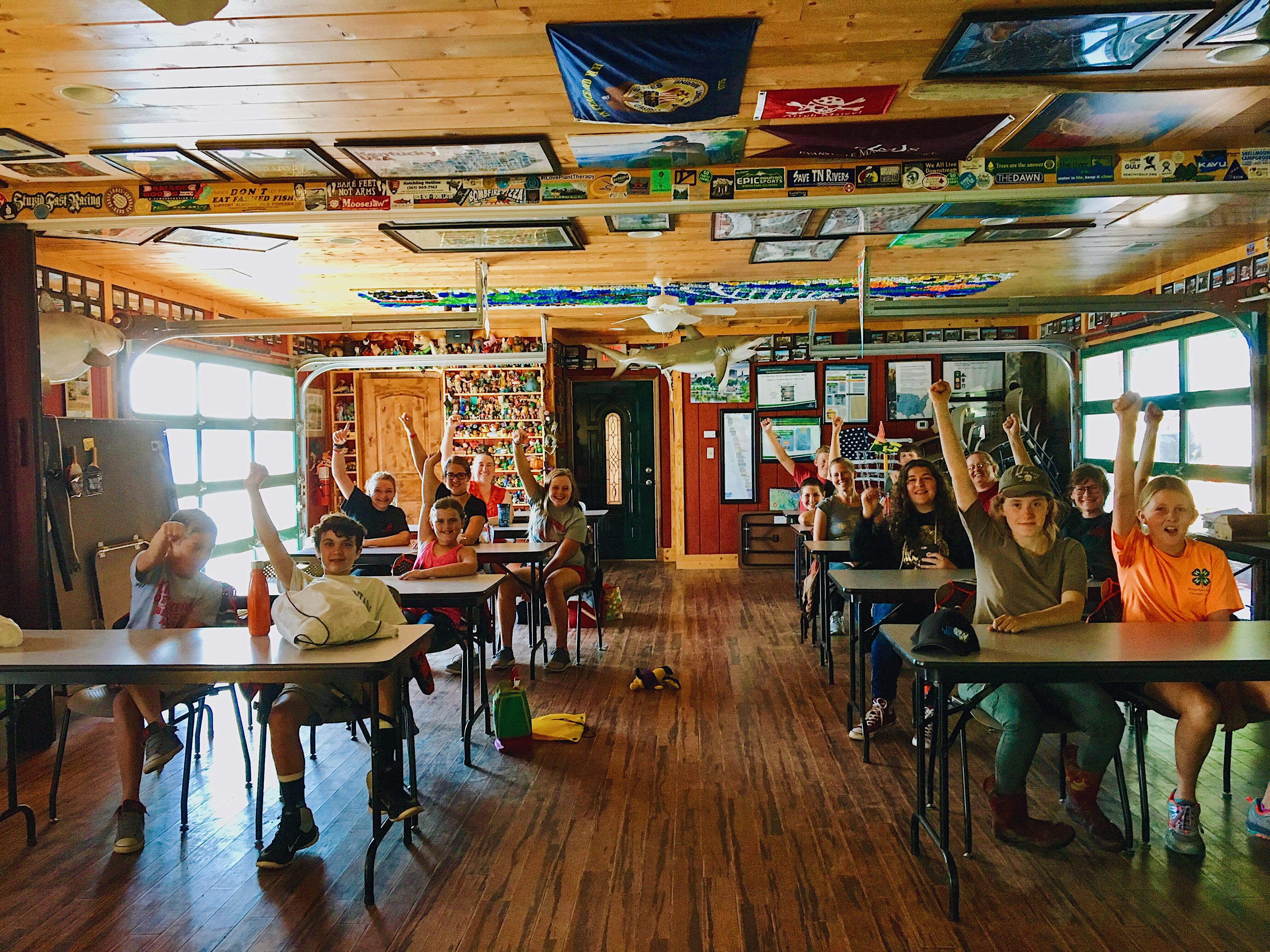 "Students and teachers alike! We have an educational opportunity waiting for you in our ""floating classroom."""
