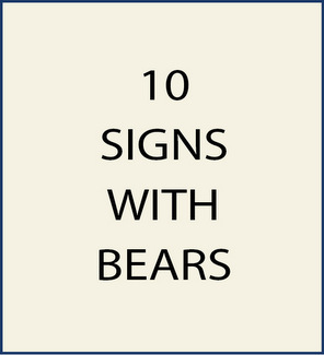 10. M22850 - Signs with Bears as artwork