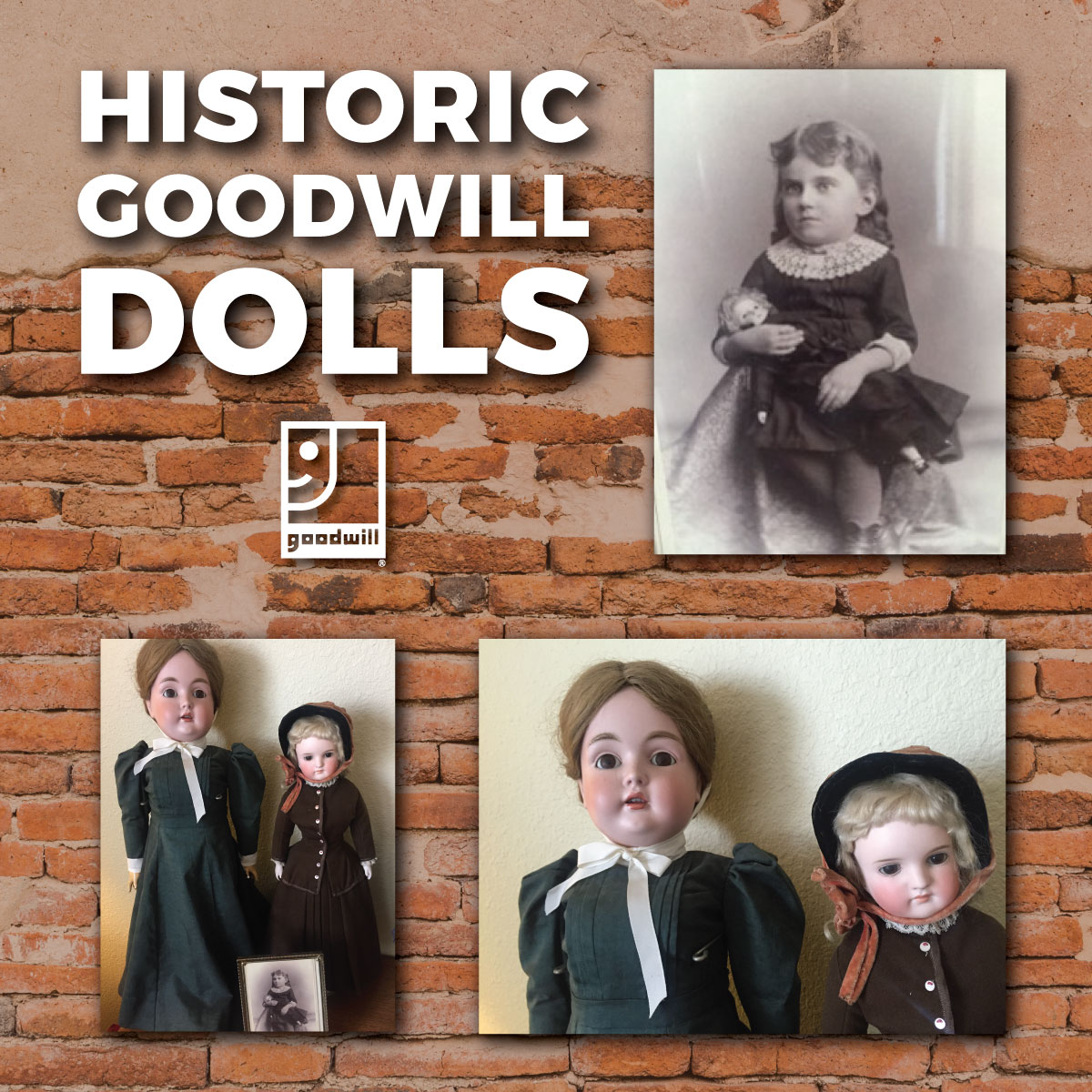 Historic Goodwill Dolls