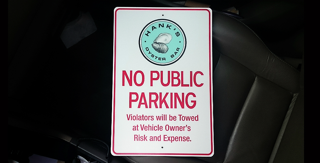 Custom #NoParkingSign