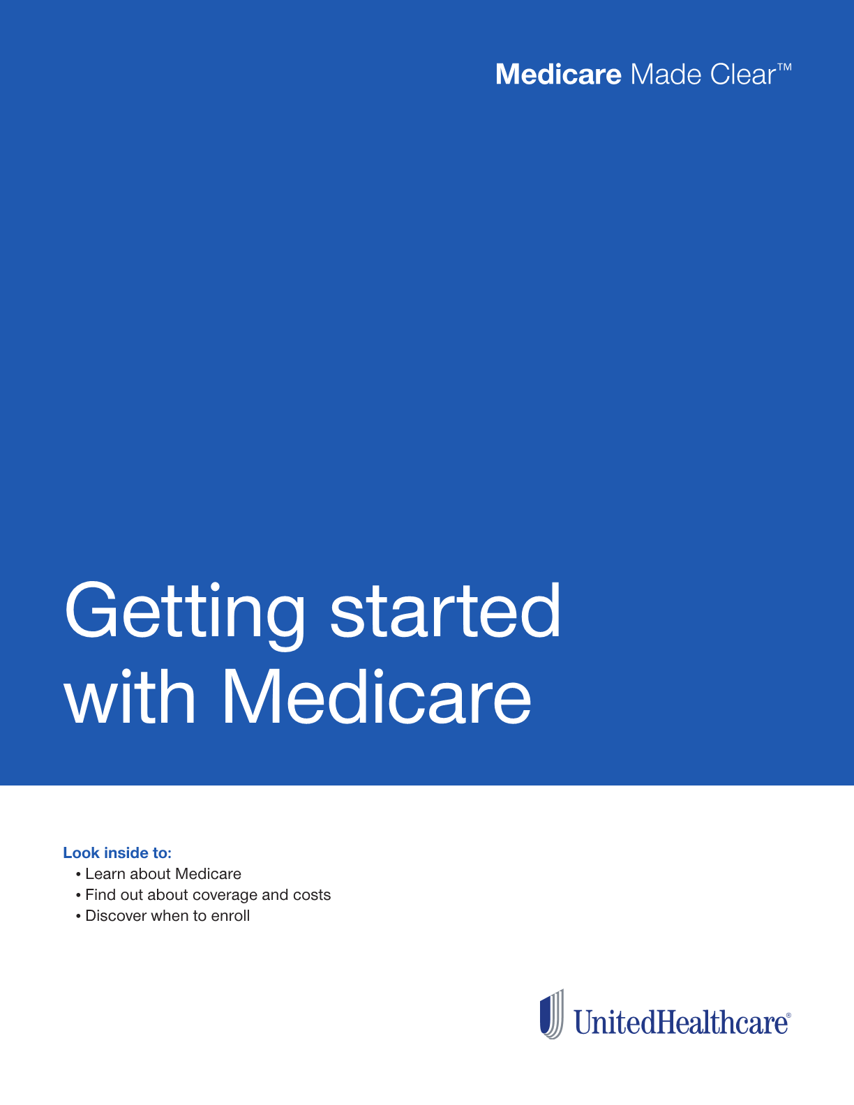 Getting started with Medicare Guide