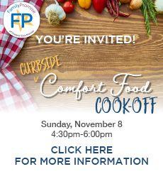 2020 (Curbside) Comfort Food Cook-Off