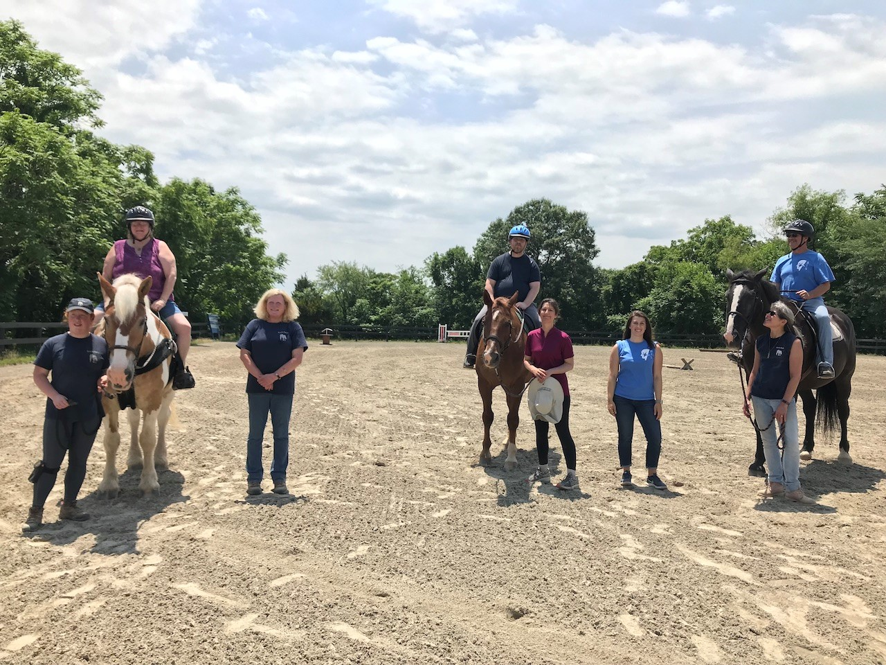 Bridle Paths and Brain Injury Group Equine Therapy Program