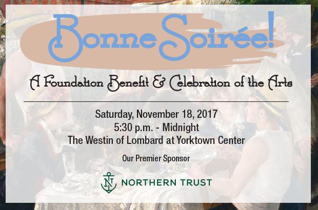 Bonne Soirée: A Foundation Benefit & Celebration of the Arts