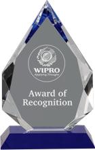 Pendant Crystal Award