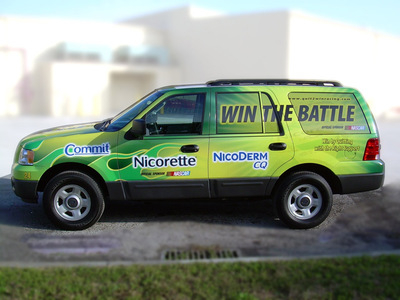 Ford Explorer Vehicle Wrap 2