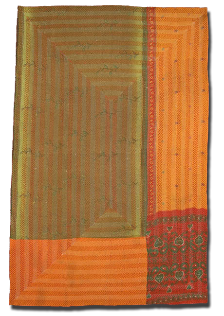 Kantha, Maker unknown, Probably Made in Bihar, India, Circa 1975-2000, IQSC 2007.004.0024