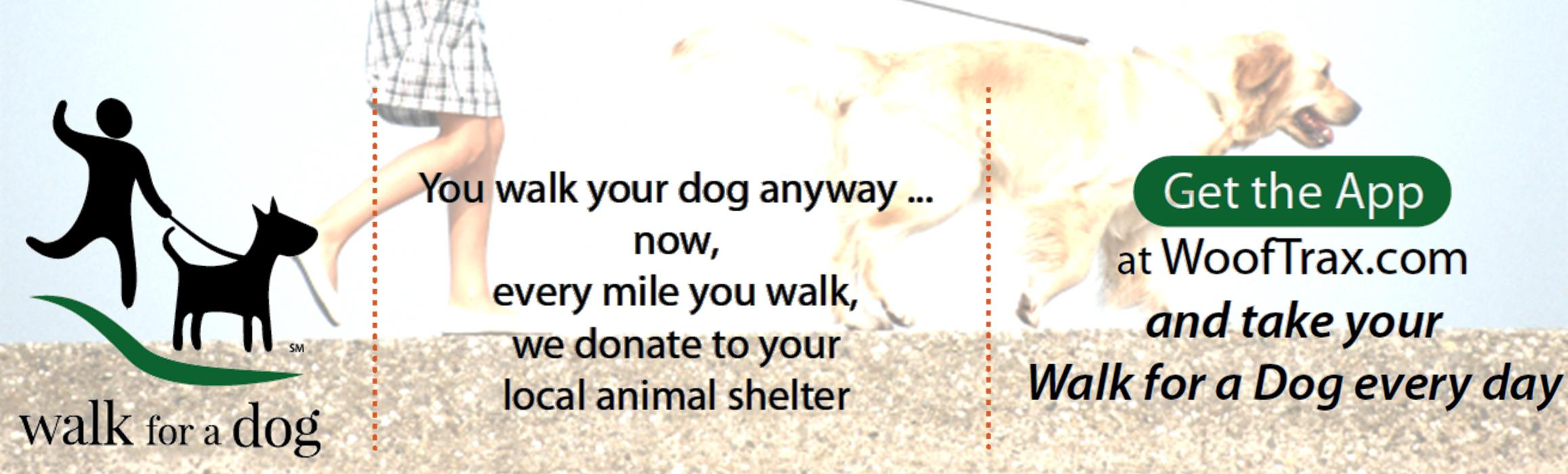 Walk your dog, support Circle of Friends