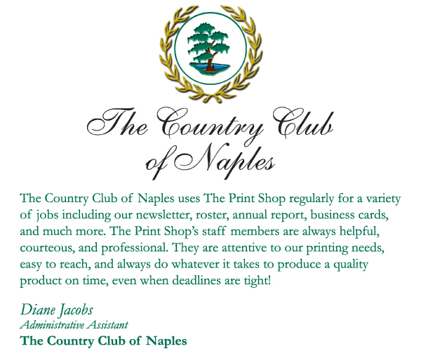 The Country Club of Naples