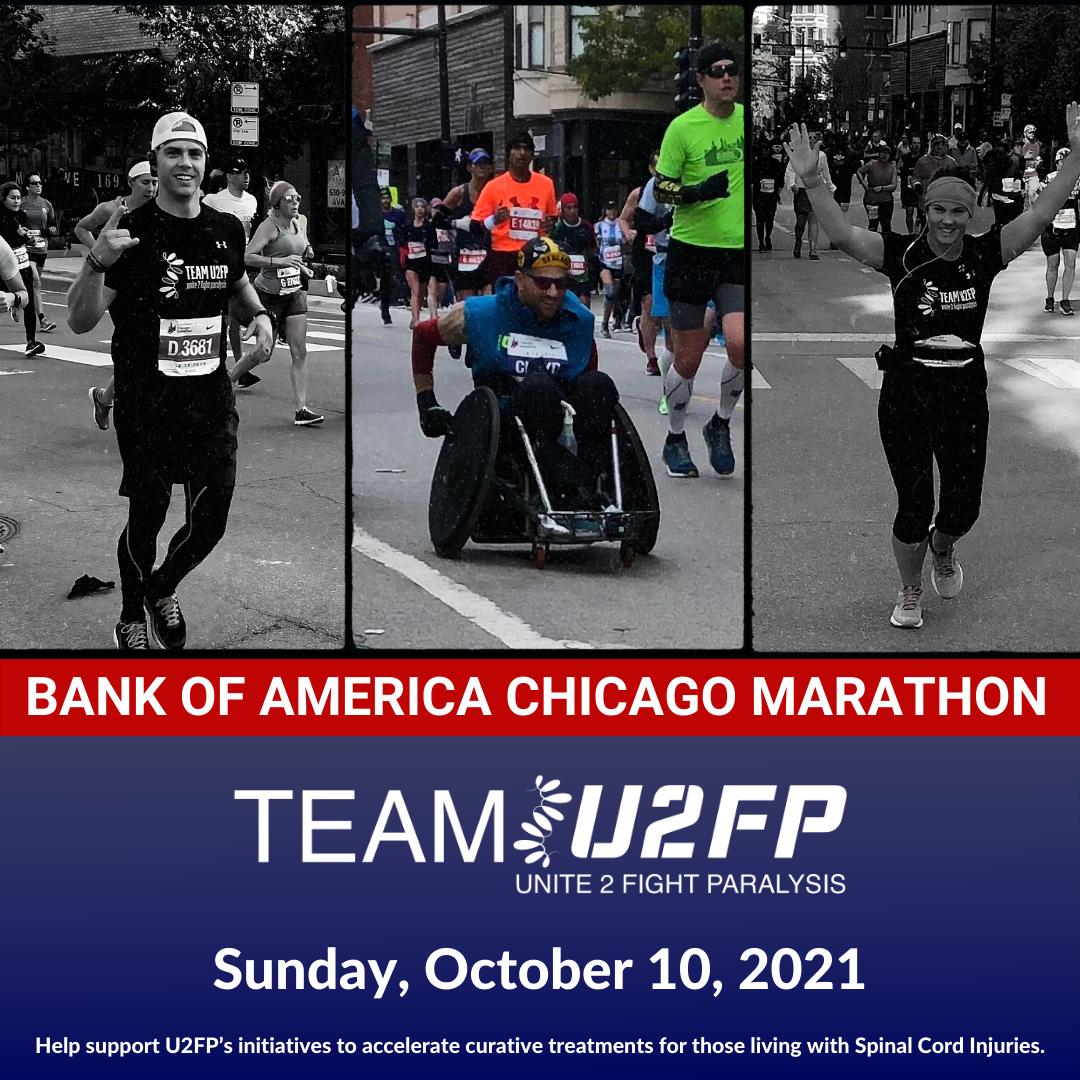 Join Team U2FP for the 2021 Chicago Marathon!