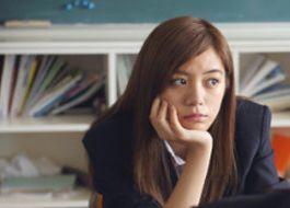 Girl Struggling at School