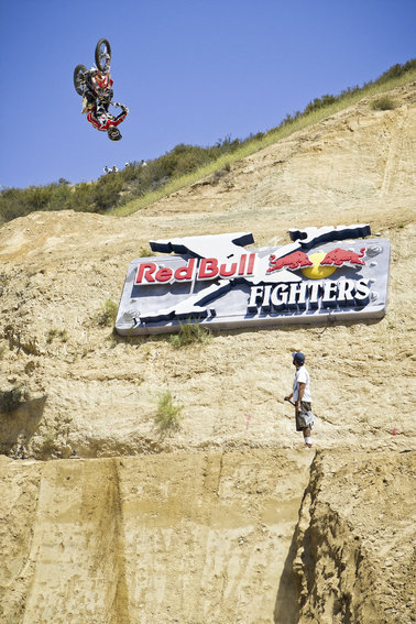 M5014 - Very Large  Red Bull Motorcross Event Dimensional Sign