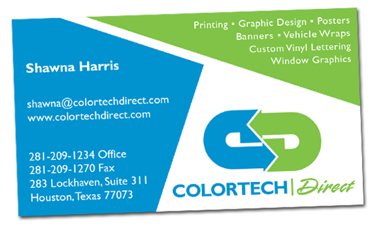 Colortech direct does awesome business cards business card pricing reheart Image collections