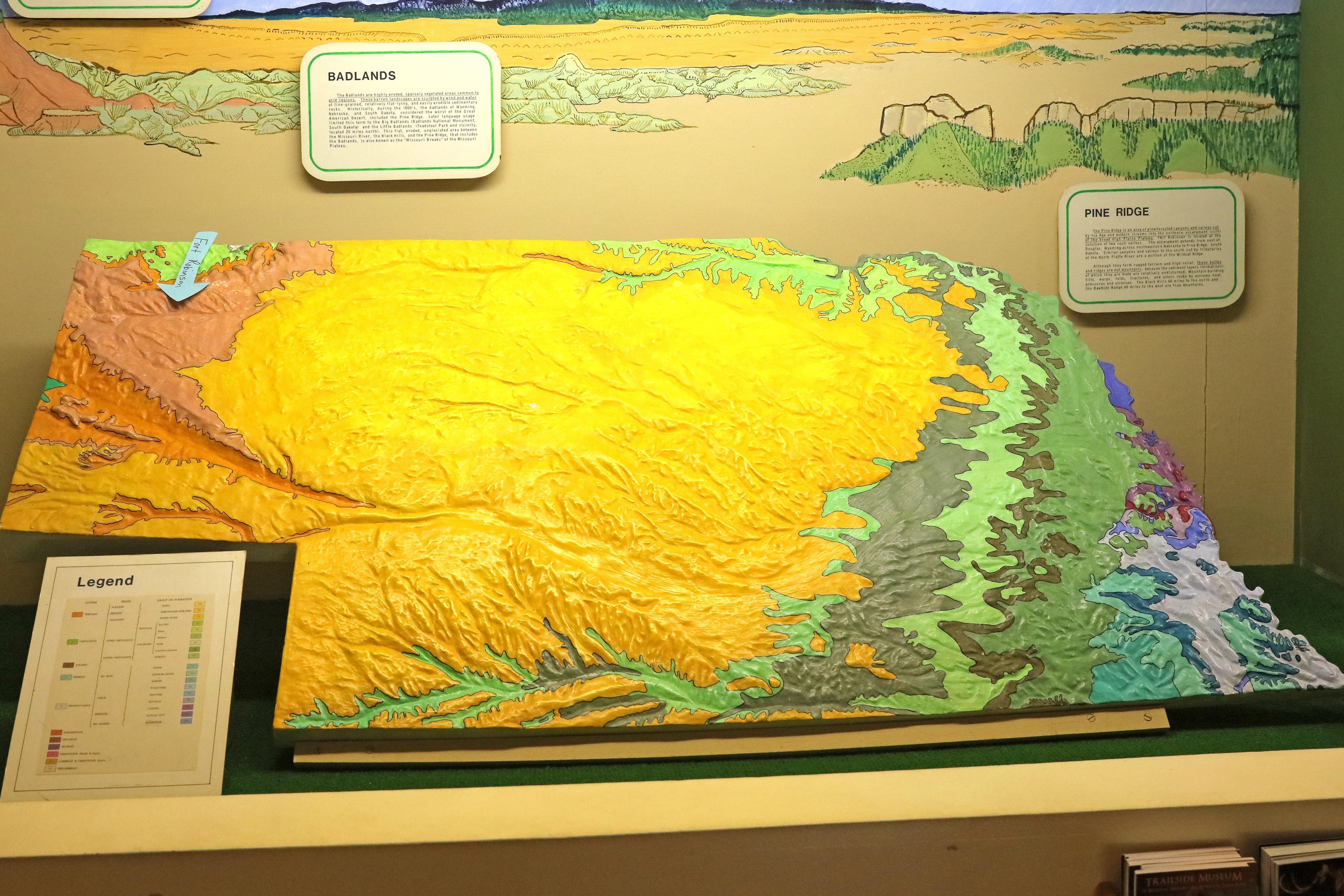 Geology W Neb