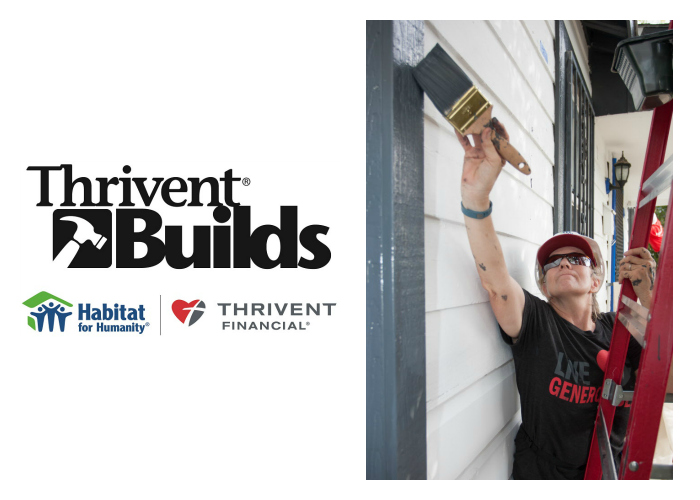 Thrivent Builds Homes in Loveland.