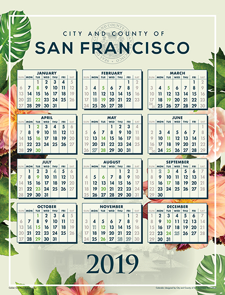Click here to download the CCSF 2019 Calendar