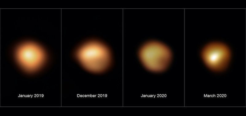 Dust Shrouded and Dimmed Betelgeuse