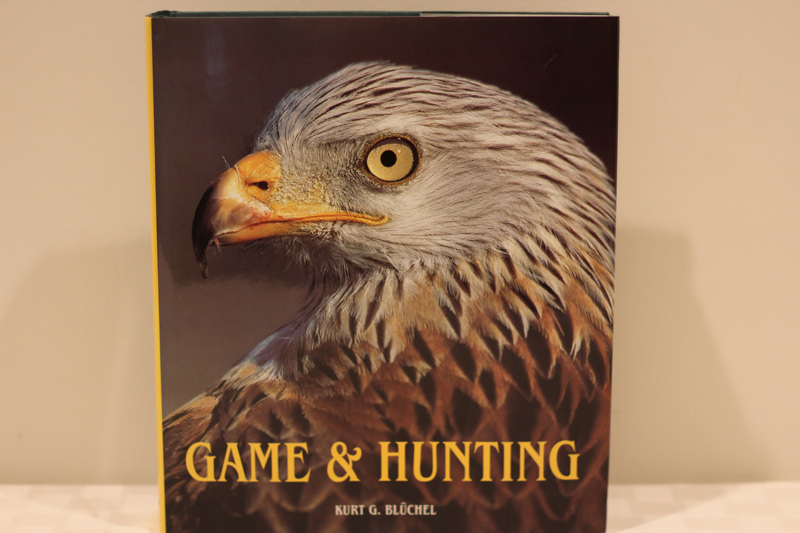 Game & Hunting book - Donated by Karl & Barbara Saunders